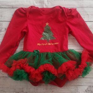 My 1st Christmas dress